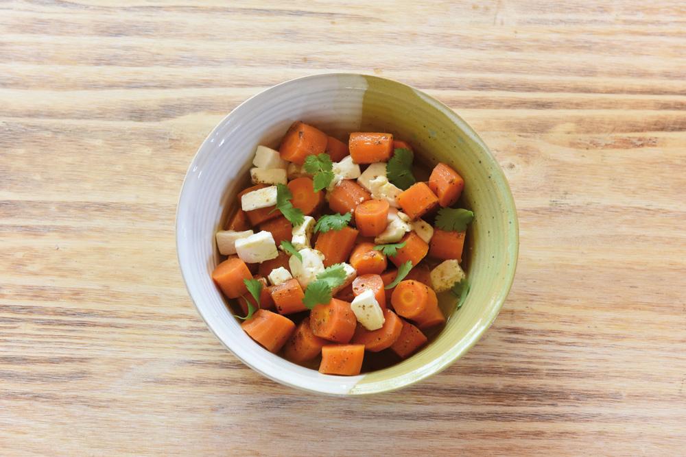 Karotten mit Sesam